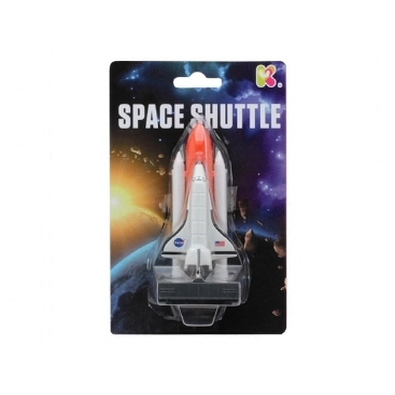 Little metal space shuttle