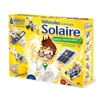 Solar powered vehicle kit
