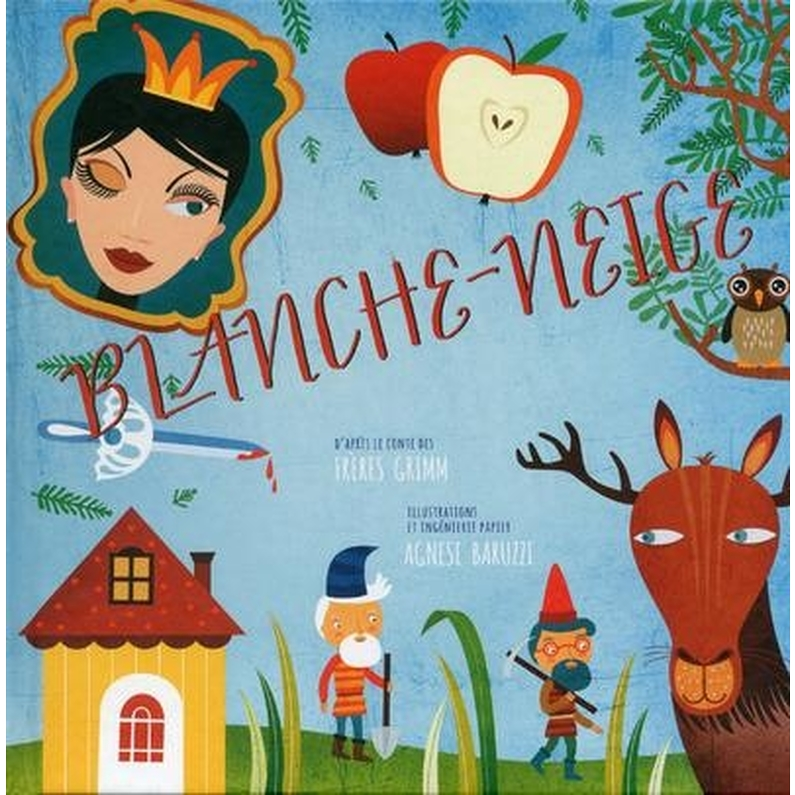 Blanche Neige Livre Pop Up French Version