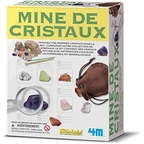 Crystal mine set