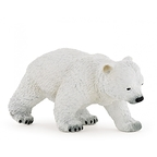 Figurine Baby polar bear walking