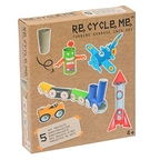 Rolls of toilet paper Recycle Me Boy Medium Creative kit