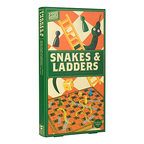 Wooden game Snakes and Ladders