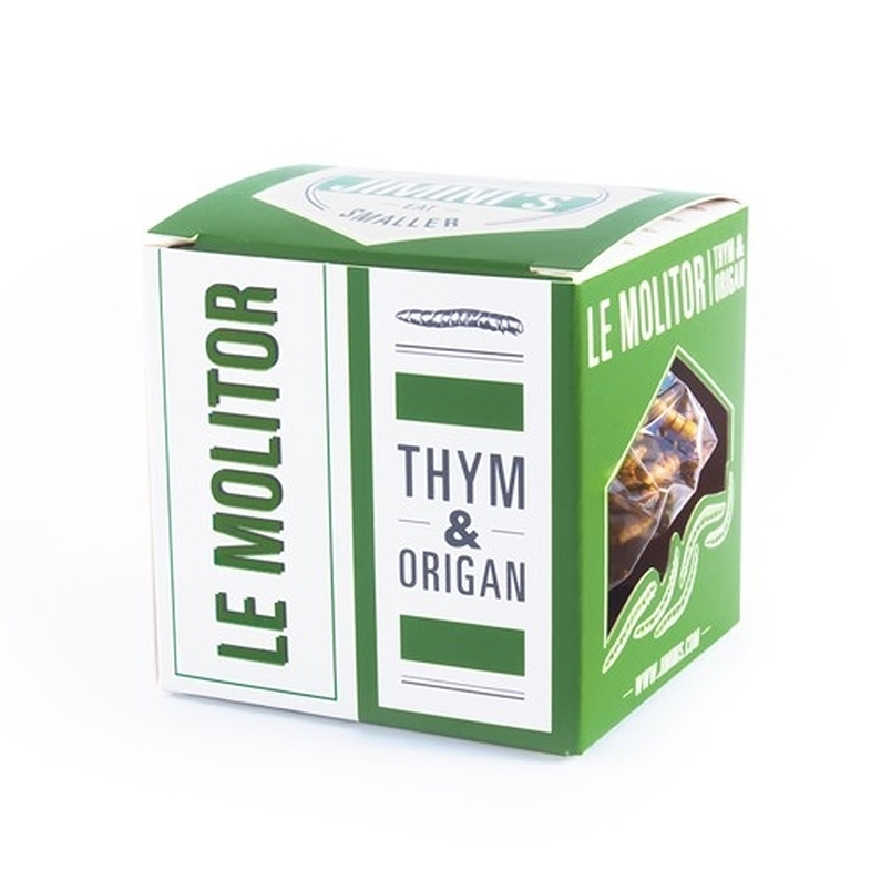 Edible insects- Mealworms Thyme & origano