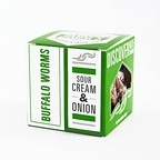 Insectes comestibles - Buffalo Sour Cream & onion