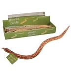 Toy Wood Snake