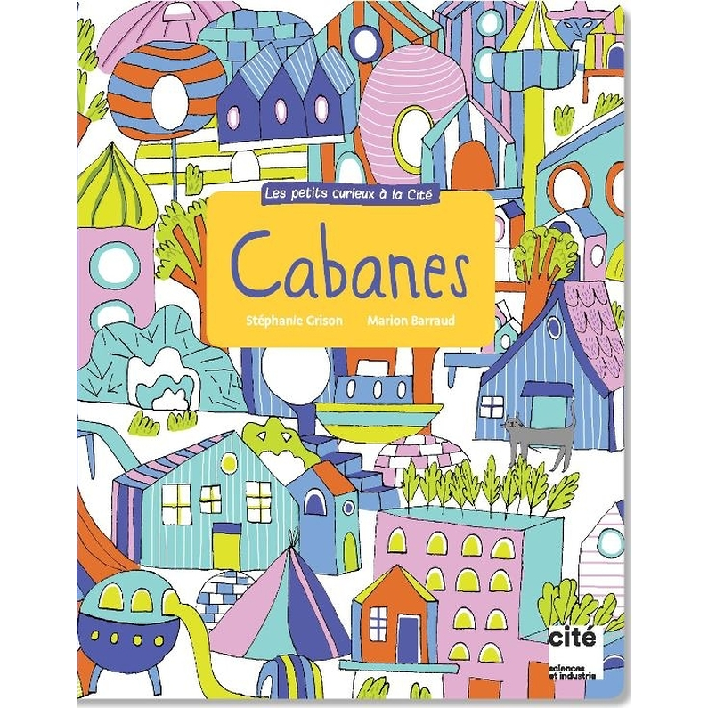 "Activity book ""Cabanes"""