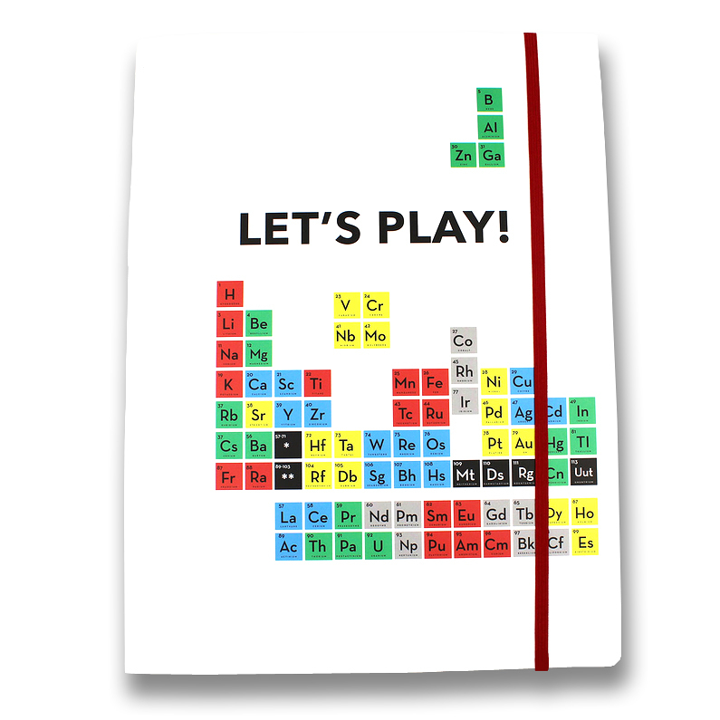 Elastic folder Periodic Table