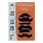 Fake mustaches incognitos