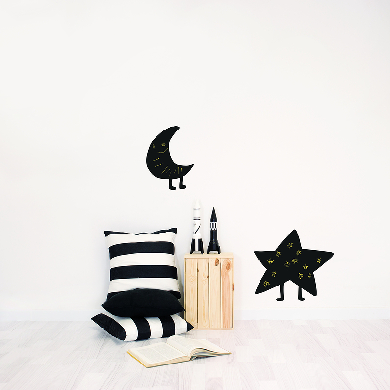 sticker toile ardoise chispum boutique cit des. Black Bedroom Furniture Sets. Home Design Ideas