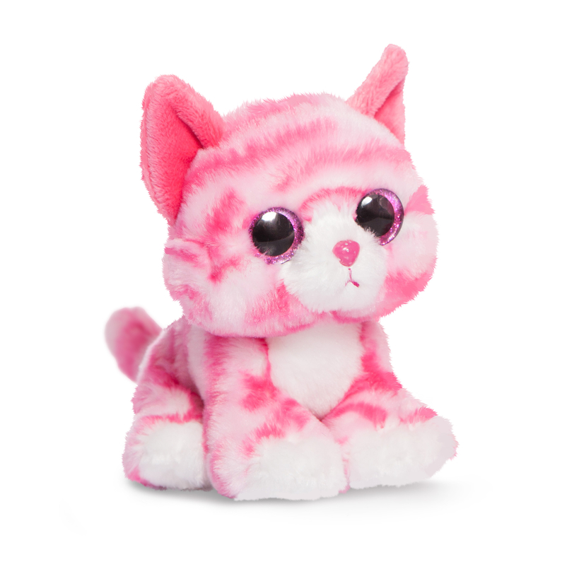 Peluche - Chat Rose