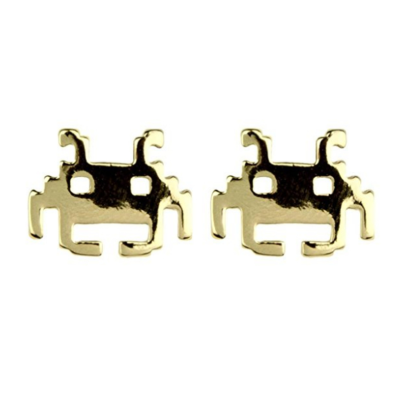 Boucles d'oreilles Space Invader