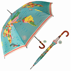 Gentleman's umbrella - Vintage world map