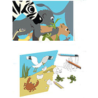 Baby animals set